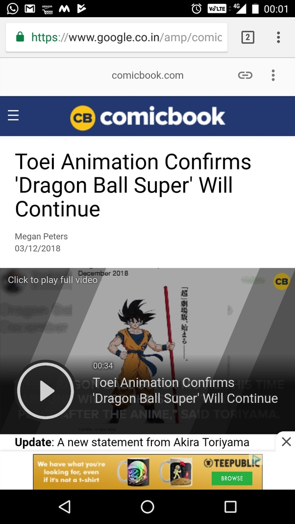 Is it true that episode 131 of Dragon Ball Super will be the last