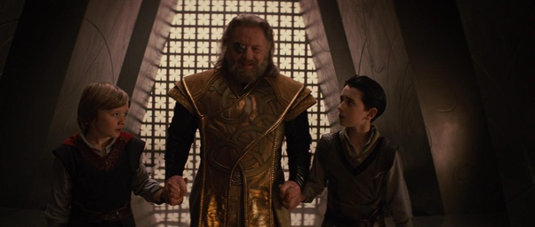 \If Loki wants, he can take the icy throne being an adopted son of Odin, as he's the actual real heir of the throne of Jotunheim.