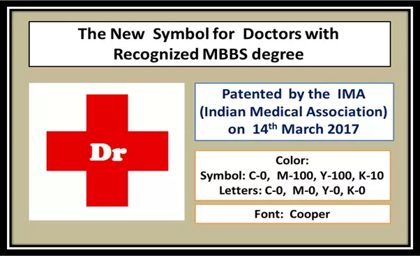 What Is The New Symbol For Doctors Who Have A Recognized Mbbs Degree