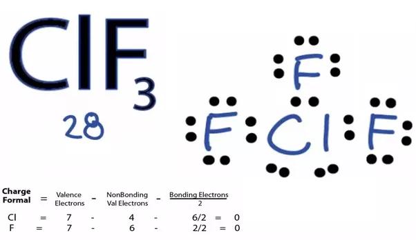 Lewis Diagram Chlorine Triflouride Info Wiring