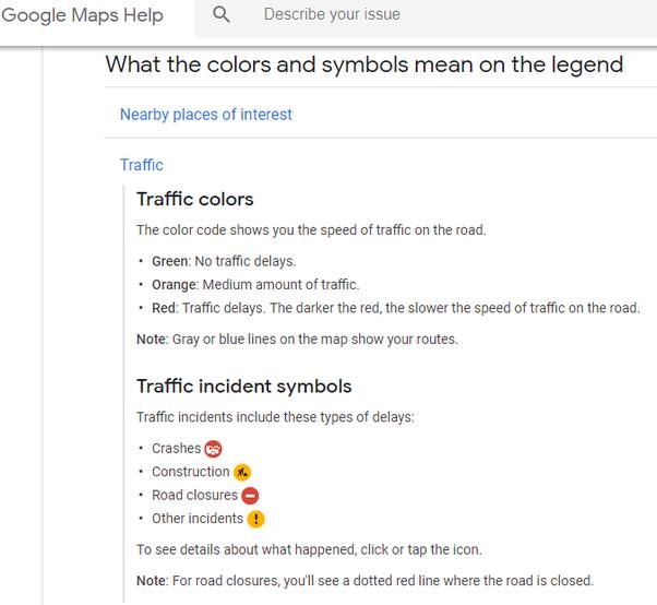 What Is The Orange Line On Google Maps On Australia Quora