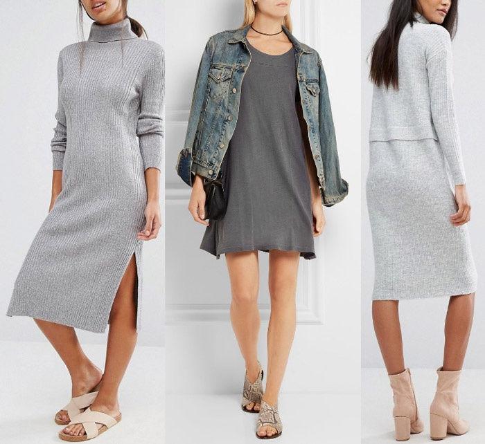 34f4cd09f09b31 80s Re-Fad  What color shoes should you wear with a grey dress  - Quora