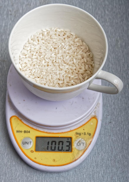 How many cups is 100 grams of uncooked rice? - Quora