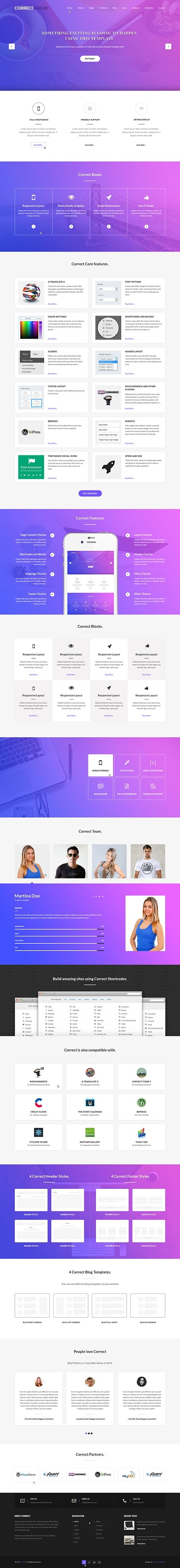 what are the best premium wordpress themes for web design company