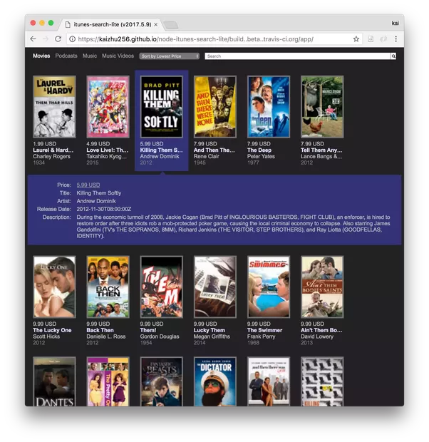 is there an api for apple movie trailers quora