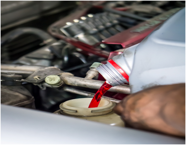 Is it safe to drive when a car is leaking transmission fluid