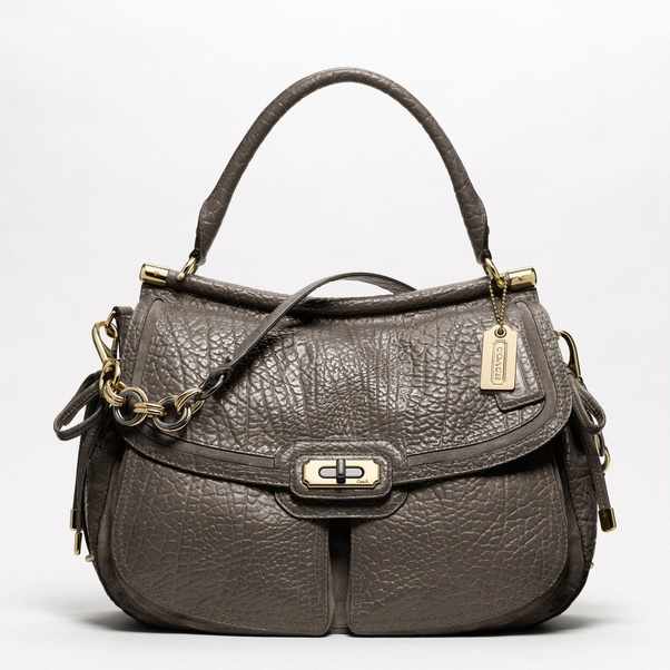 And The Serial Number Should Begin With An A M To Verify If Bag Is Real Check Source Because Coach Purses Are Purchased At Dealers