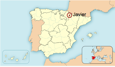 Map Of Javier Spain.Is Javier A Name More Common In Spain Europe Or America Quora