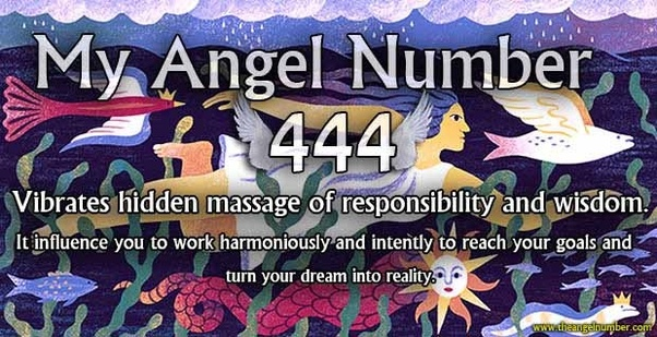 What is the Angel number 444? - Quora