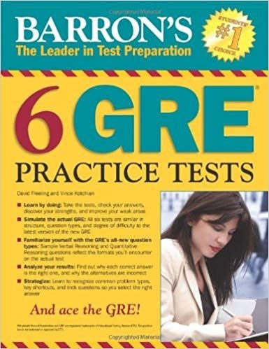 What Is The Best Gre Prep Book Quora