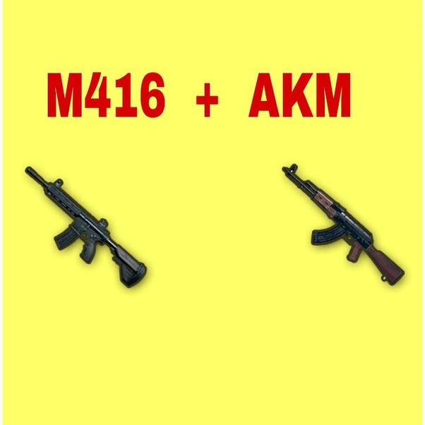 M416 and AKM