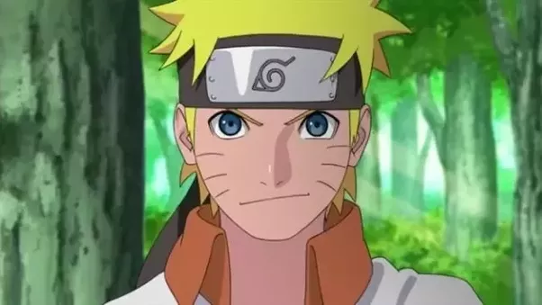 Naruto age 17 after the 4th great ninja war