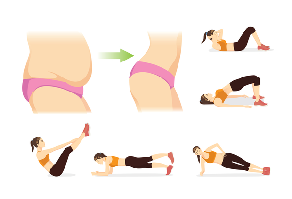 exercise for belly fat removal