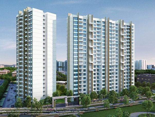 Where and how can I find 1 BHK, 2 BHK & 3 BHK flats in the Mumbai