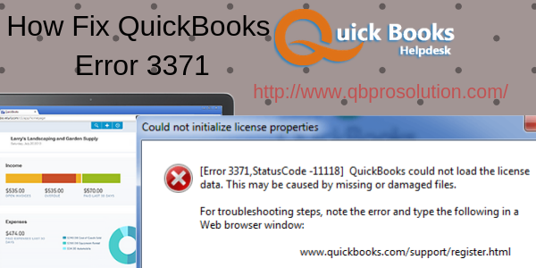 What is QuickBooks Error 3371? - Quora