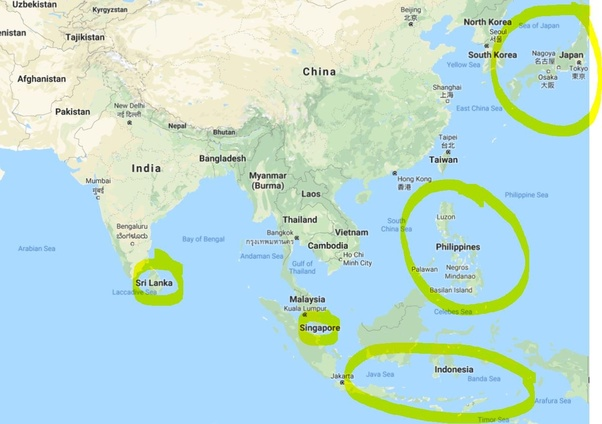 Is it true that Indonesia is composed completely of islands ...