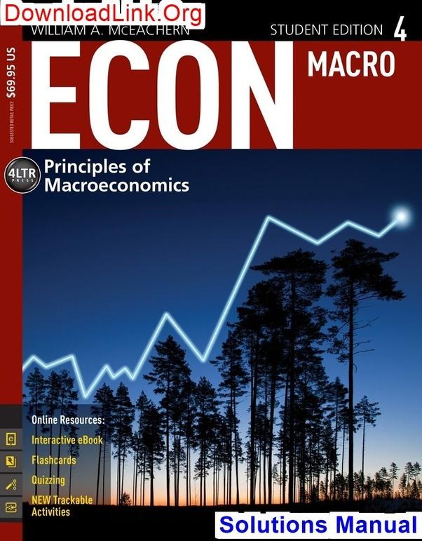 Microeconomics mceachern 9th edition pdf.