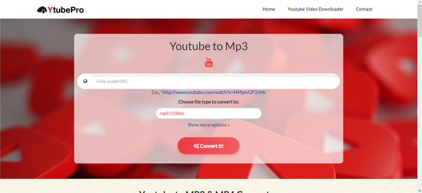 convert mp3 dari youtube