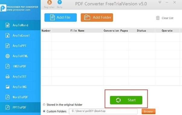 how to make scanned files into pdf