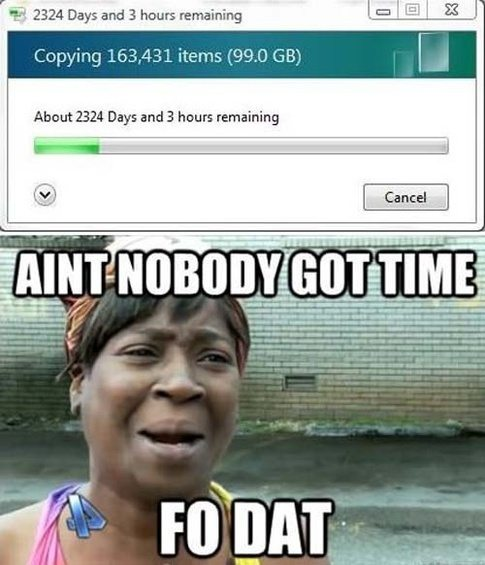 main qimg 0a0aa037783040808e6526fead543b10 c what is your favorite 'ain't nobody got time for that' meme? quora