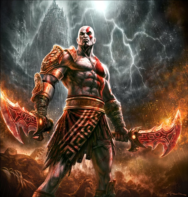 If Kratos From God Of War At His Prime Faced Off Against