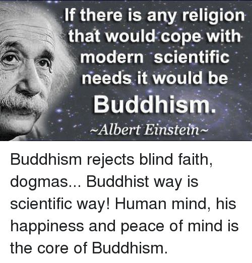 what were einstein s evaluations of buddhism quora
