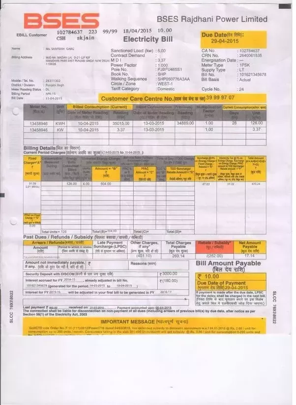 Have seriously electricity bill in Delhi come down after ...