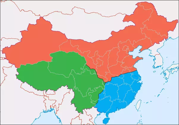 If china split into three nations in the manner of the three the northern state colored red comparable to cao wei would very likely retained beijing as its capital due to its furnished infrastructures and centuries gumiabroncs Gallery