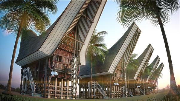 Secara Arsitektur Rumah Adat Mana Yang Paling Unik Di Indonesia Quora