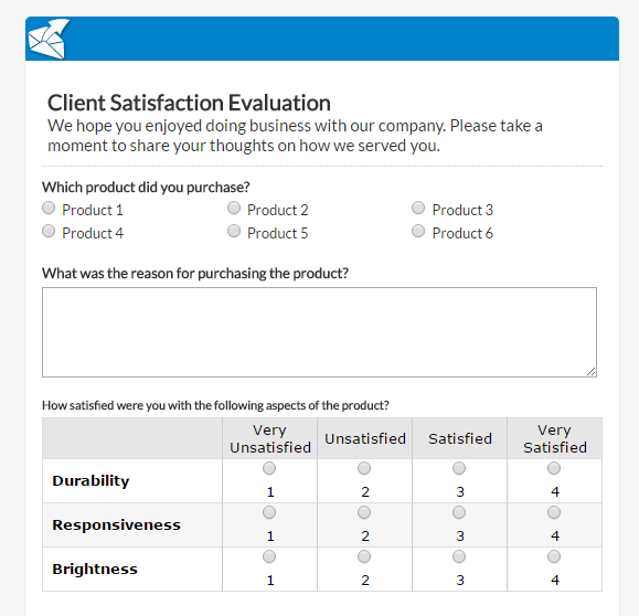In Fact, There Are Already Survey Templates That You Can Readily Use For  Free Like This One:  Free Feedback Form