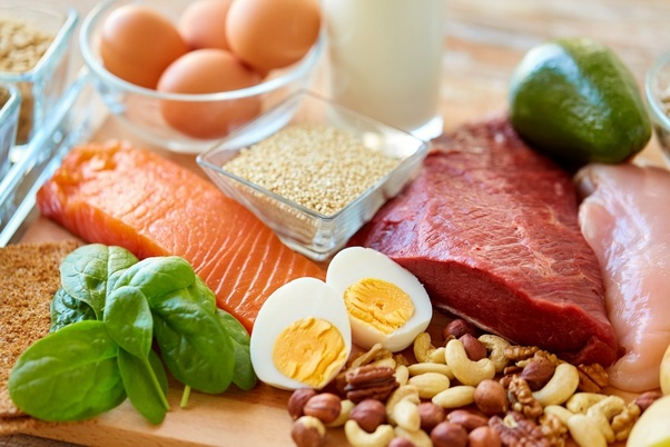 A variety of healthy proteins - Smart Tips to Eat Healthy on a Budget