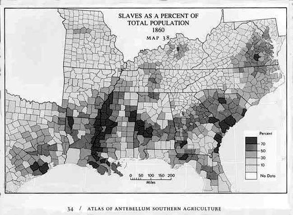 Were there no big plantation style homes in the South ...