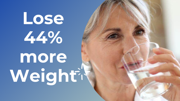 Drink Plenty Of Water, Especially Before Meals.