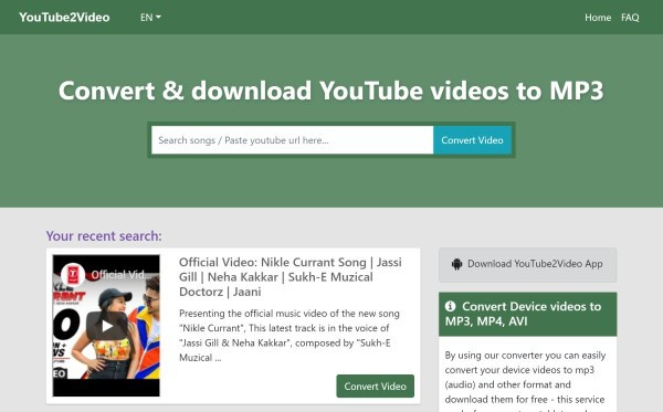 convert youtube to mp3 320kbps free