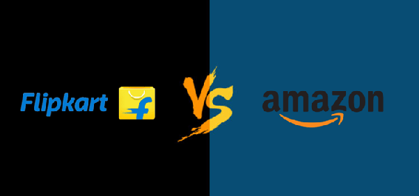 Image result for amazon and flipkart clash