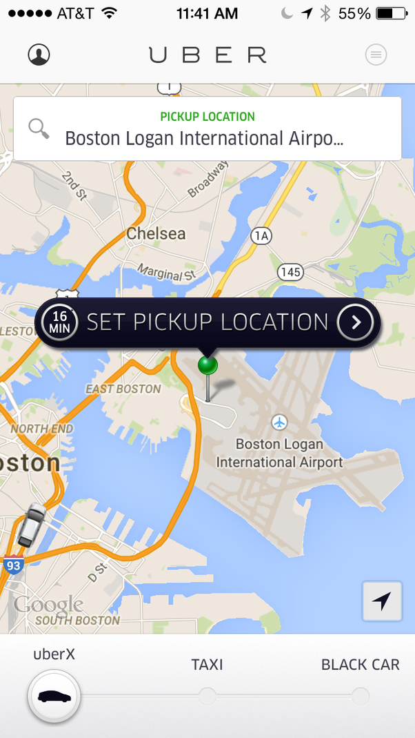 Does Uber Pick Up From Bos Logan Airport Quora