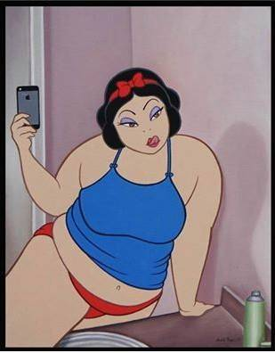 Hot big fat girl cartoon