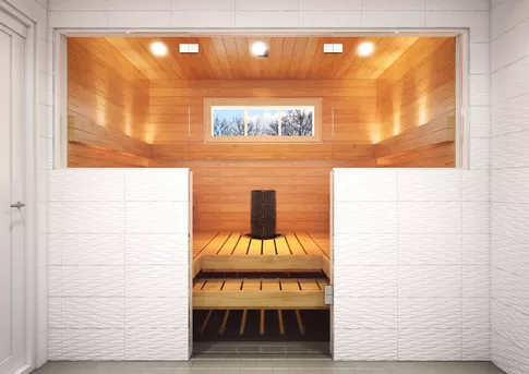 In a Finnish sauna, is it compulsory to be naked? - Quora