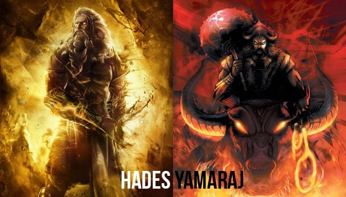 Image result for Yama & Hades