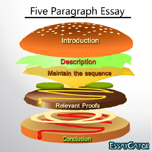 also known as hamburger essay owing to its one three one structure a five paragraph essay typically contains the following elements
