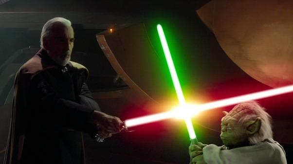 how would you rank the lightsaber duels in star wars quora