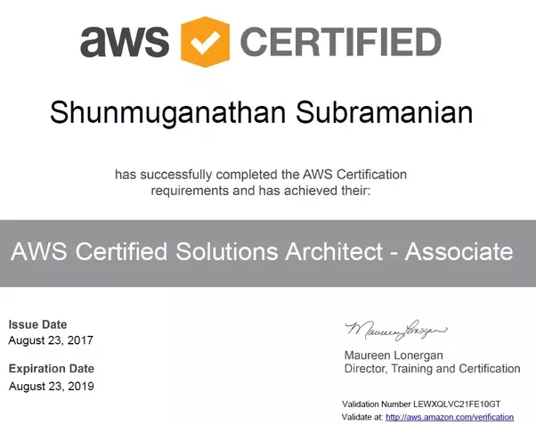 How many people in the world passed AWS Solution Architect ...