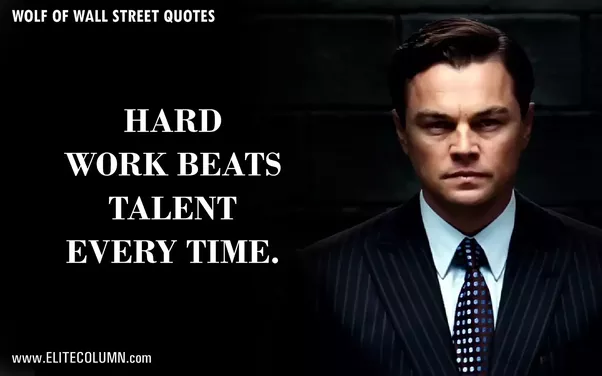 Wall Street Quotes New What Are People's Favorite Quotes From The Movie 'the Wolf Of Wall