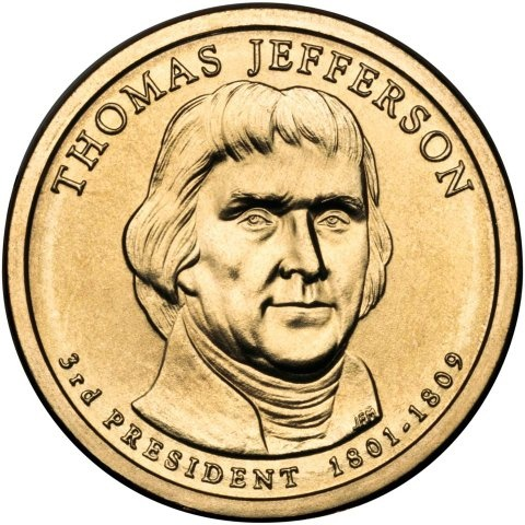 Dating elizabeth $1 coins thomas jefferson