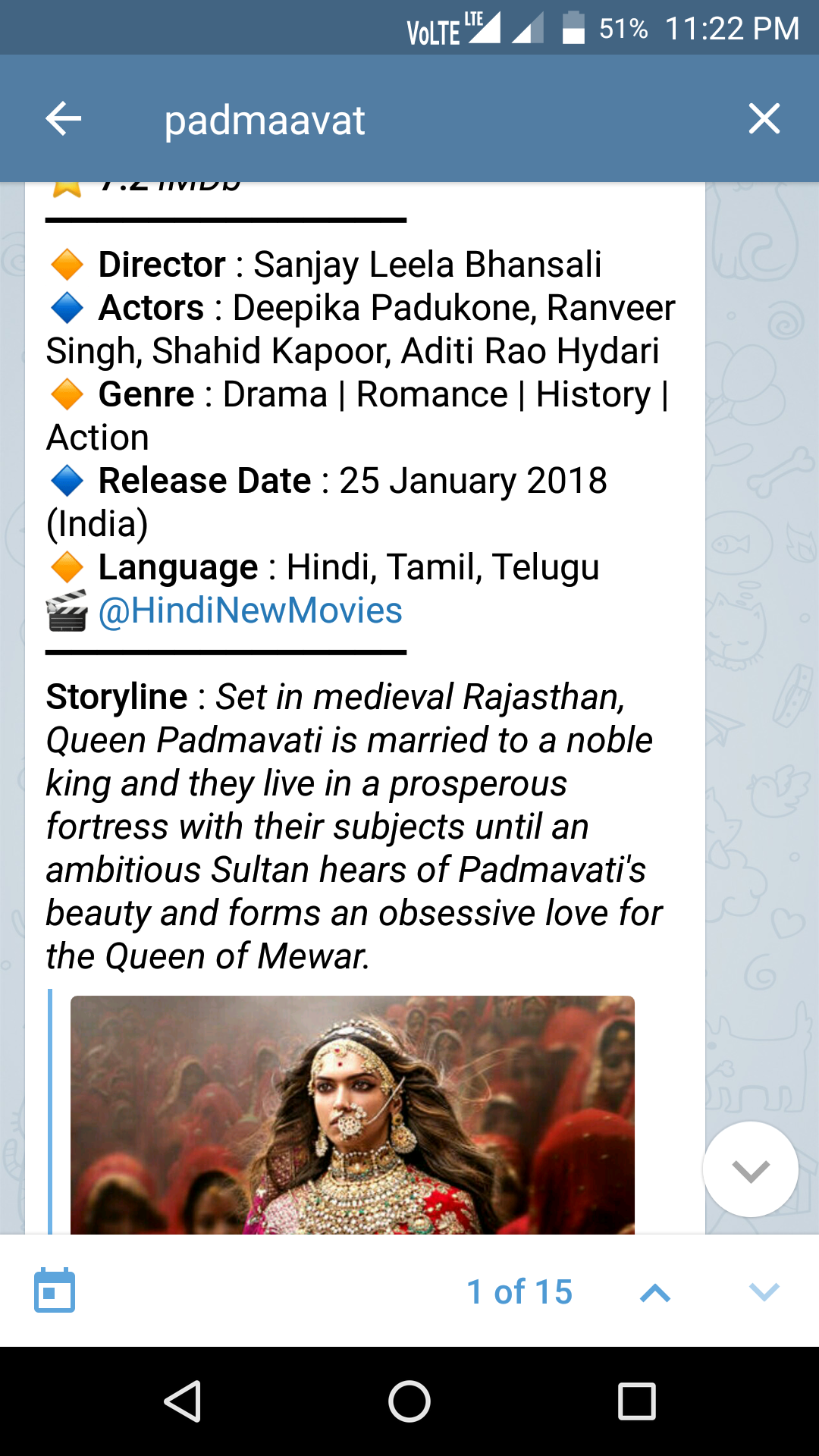 What are websites for downloading Padmavati in Hindi? - Quora