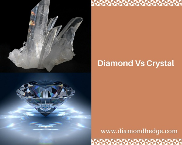 What Is The Difference Between Crystal And Diamond Quora