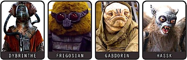 Why Do The New Star Wars Movies Have Very Few New Aliens When George Lucas Has Tons Of Alien Characters And The Ones That Are In The New Star Wars Movies Have