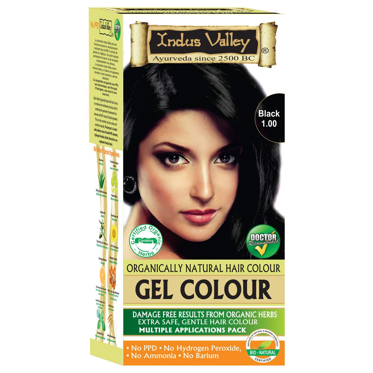 Which Is The Best Natural Herbal Hair Color To Cover White Hairs Quora
