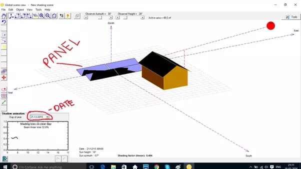 How can one do shadow analysis for solar pv projects quora you may select any date that you want to see the only thing is you should know the dimensions of all the objects is a very good tool if you know the ccuart Gallery