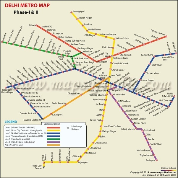 Charging Station Map >> Which is the best and cheapest way to go from the Hazrat Nizzamudin railway station to the New ...